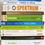 Książki ozdrowym odżywianiu, filmy dokumentalne, wykłady iinne