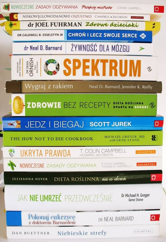 Polecane książki o zdrowym odżywianiu, filmy, wykłady i inne