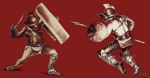 Bezmięsna dieta gladiatorów i wojowników