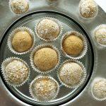 Słodkie kulki zciecierzycy iorzechów – pieczone – 3 składniki