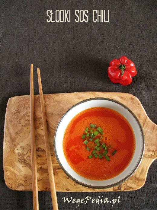 Domowy słodki sos chili - szybki przepis bez gotowania
