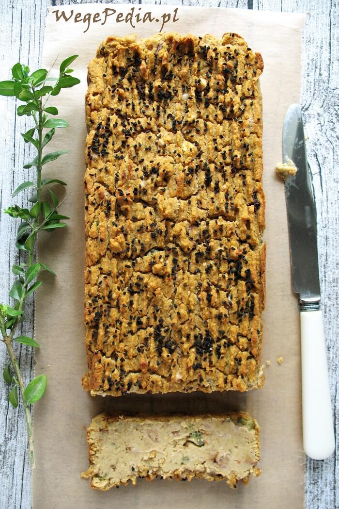 Pasztet z białej fasoli i orzechów – wegański przepis