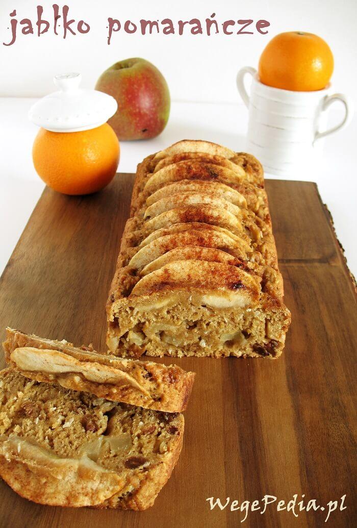 Wegańskie ciasto z jabłkami - przepis bez cukru i tłuszczu