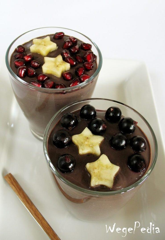 Deser czekoladowy z tofu - fit, bez pieczenia, w 5 minut