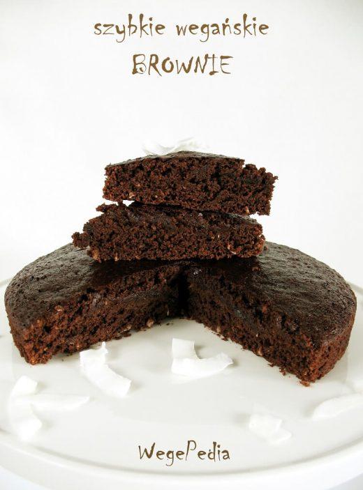 Szybkie brownie wegańskie - pyszne i dietetyczne