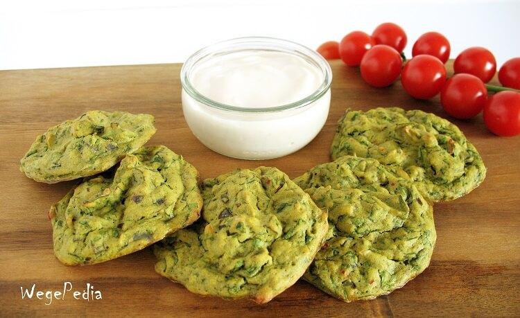 Wytrawne muffiny zeszpinakiem - bezglutenowe, fit