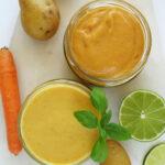 Ser zziemniaka imarchewki, wegański, 2 przepisy fit
