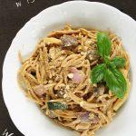 Wegańskie spaghetti CARBONARA – kremowe ifit