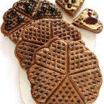Wegańskie GOFRY czekoladowe zpomarańczą imakiem