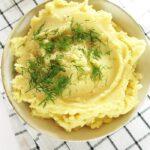 Puree ziemniaczane bezmleka imasła, wegańskie