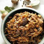 Wegański BIGOS wigilijny zgrzybami itofu – dietetyczny