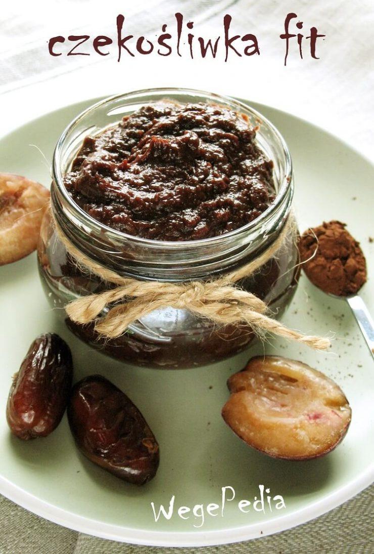 Czekośliwka fit z kakao - przepis na powidła śliwkowe bez cukru