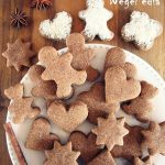 Wegańskie PIERNIKI świąteczne, 4 składniki, prosty przepis bezcukru