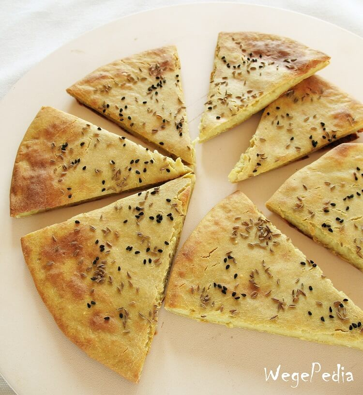 2-składnikowy chlebek bezdrożdży zkomosy ryżowej - przepis fit