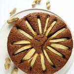 Proste ciasto orzechowe zjabłkiem – wegański przepis fit