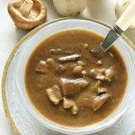 Wegański sos pieczarkowy fit – przepis bezśmietany imleka