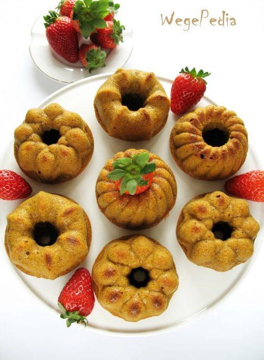 Wegańskie babeczki marchewkowe fit - bez cukru i oleju