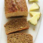 Łatwe wegańskie ciasto zananasem – fit, beztłuszczu icukru