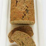 Chlebek cukiniowy fit nasłodko, prosty iszybki, wegański
