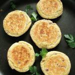 Wegańskie kotlety zczerwonej soczewicy iziemniaków gotowanych