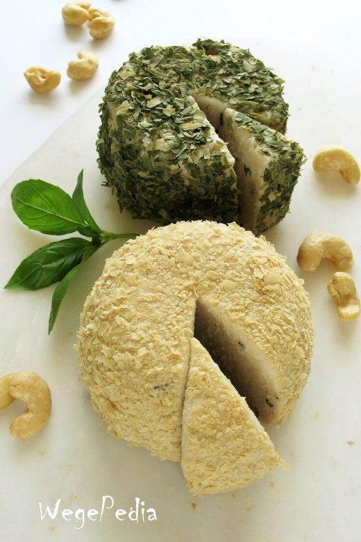 Wegański ser mozzarella z nerkowców, łatwy przepis bez agaru