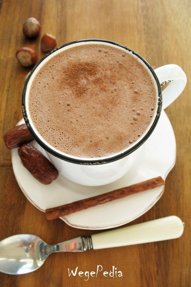 Wegańskie kakao do picia - fit, bez cukru, bez mleka krowiego