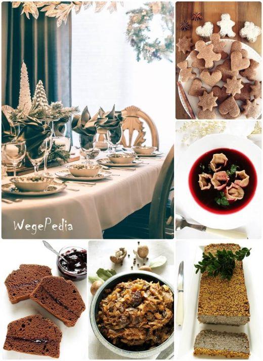 Wegańskie potrawy wigilijne, zdrowe przepisy na Boże Narodzenie