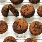 Ciastka korzenne czekoladowe – bezglutenowe, fit, bezcukru