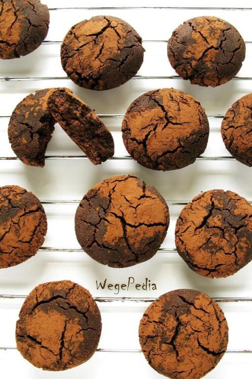 Ciastka korzenne czekoladowe - bezglutenowe, fit, bez cukru