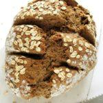Ekspresowy chleb nasodzie – razowy, zdrowy, fit, wegański