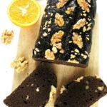Fit ciasto kakaowe zorzechami iszpinakiem – wegańskie