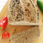 Szybki chleb bezdrożdży – razowy nasodzie