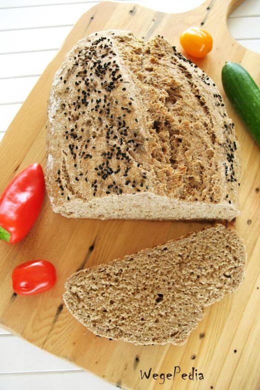 Szybki chleb bez drożdży - razowy na sodzie