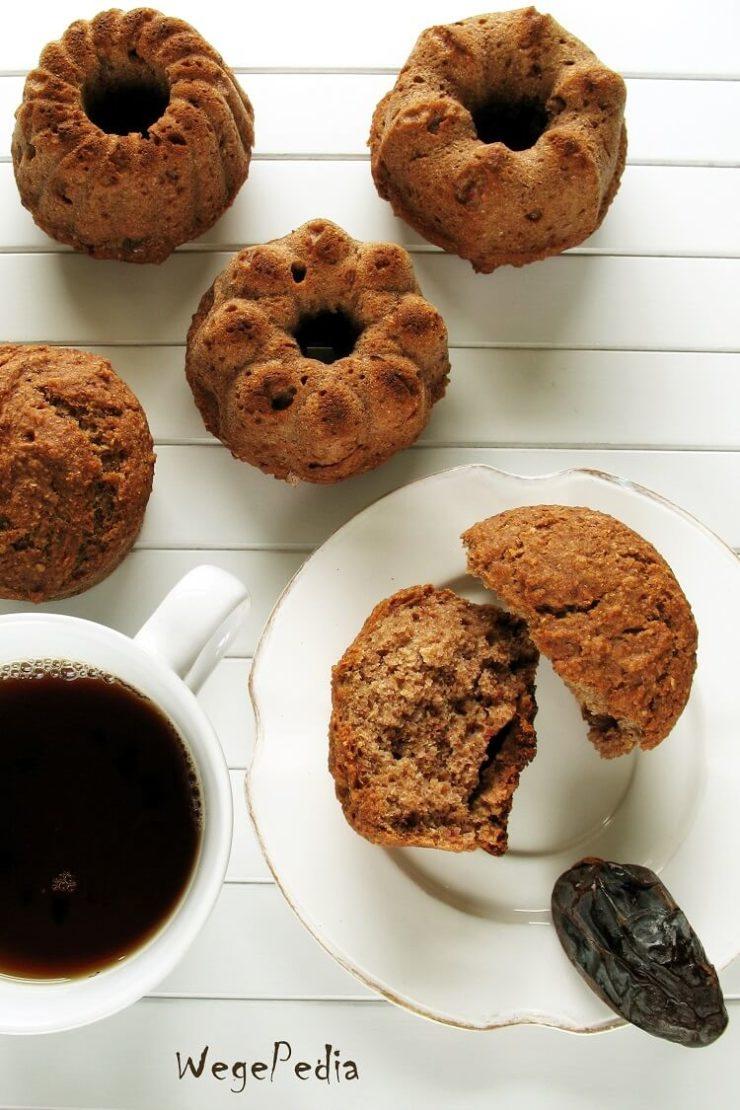 Muffiny / babeczki daktylowe z cynamonem, najszybsze