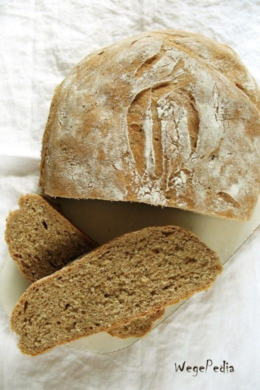 Domowy chleb na drożdżach, pszenny, prosty przepis