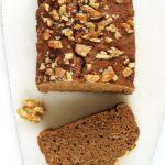 Ciasto kawowe zdaktylami, szybkie, fit, wegańskie