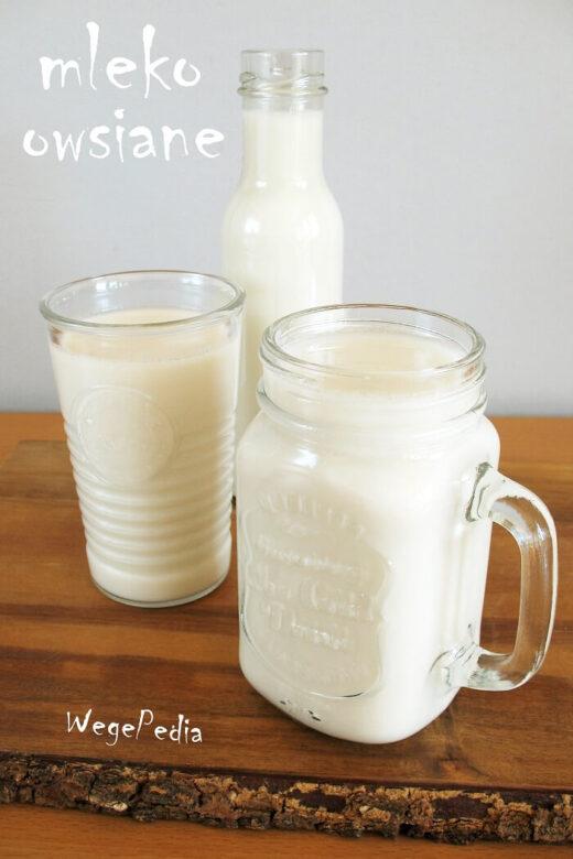 Domowe mleko owsiane, najlepsze, prosty przepis