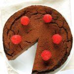 Fit tofurnik czekoladowy / kakaowy, prosty, bezagaru