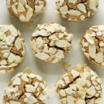Ciastka migdałowe fit zpomarańczą, szybkie, wegańskie