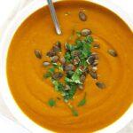 Zupa curry zdyni hokkaido, słodko-ostra, fit, najprostsza