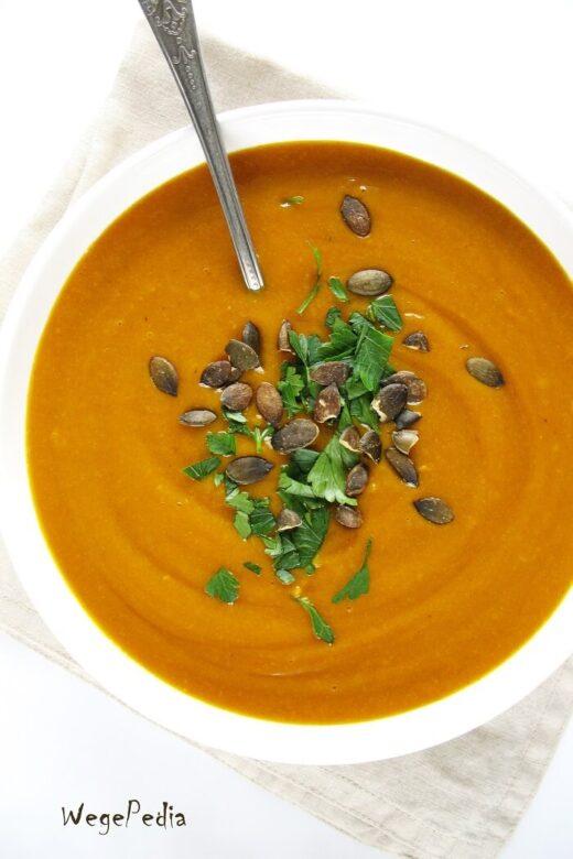 Zupa curry z dyni hokkaido, słodko-ostra, fit, najprostsza