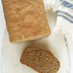 Najłatwiejszy chleb pszenny pełnoziarnisty nadrożdżach
