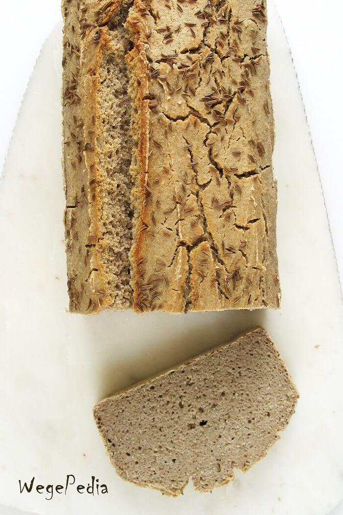 Szybki chleb gryczany na sodzie, bezglutenowy, najłatwiejszy