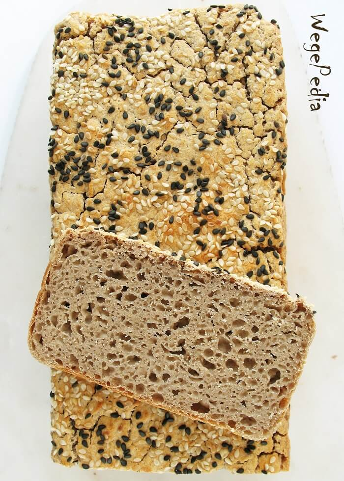 Najłatwiejszy chleb z mąki gryczanej na drożdżach
